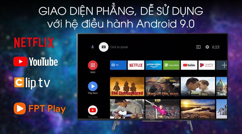 Hệ điều hành-Android Tivi Sony 4K 49 inch KD-49X8500H/S