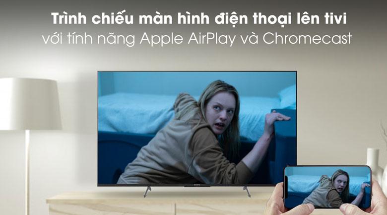 Chiếu màn hình - Android Tivi Sony 4K 49 inch KD-49X8500H