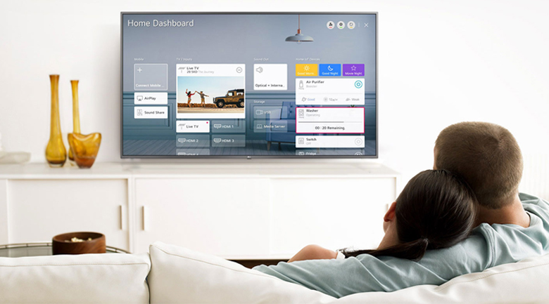 Smart Tivi NanoCell LG 4K 55 inch 55NANO86TNA - Hệ sinh thái AI ThinQ