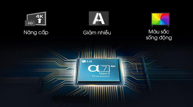 Smart Tivi NanoCell LG 4K 55 inch 55NANO86TNA - Chip xử lý thông minh
