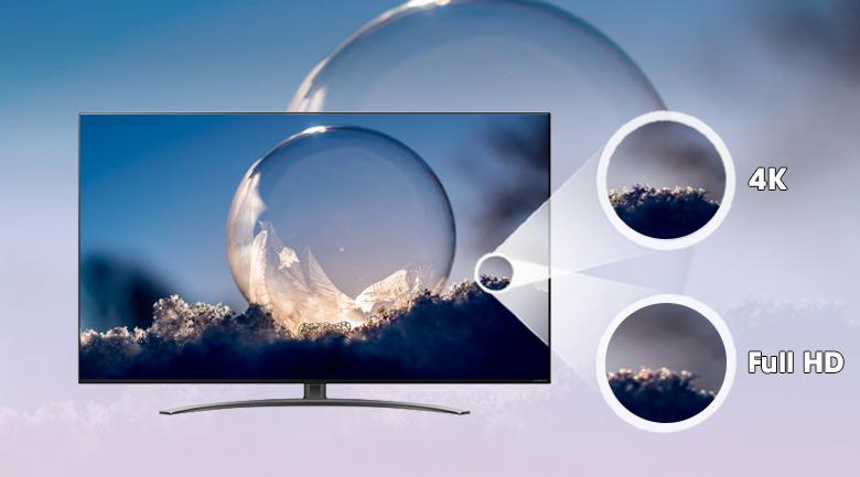 Smart Tivi NanoCell LG 4K 55 inch 55NANO86TNA - Độ phân giải 4K