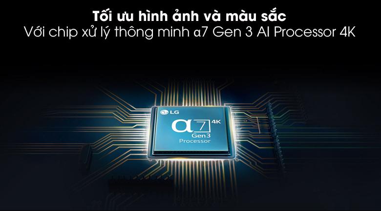 α7 Gen 3 AI Processor 4K - Smart Tivi NanoCell LG 4K 65 inch 65NANO86TNA