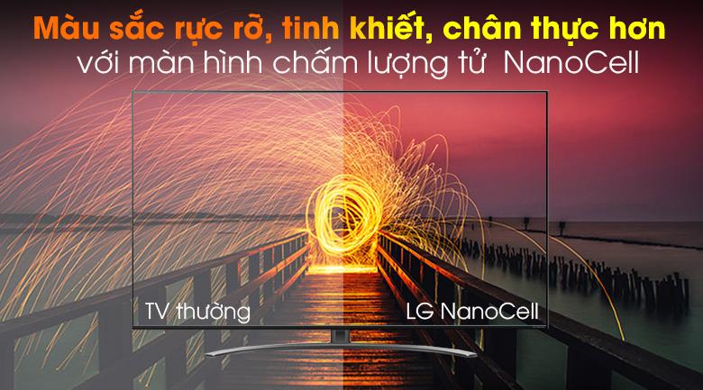 Màn hình lượng tử NanoCell - Smart Tivi NanoCell LG 4K 65 inch 65NANO86TNA