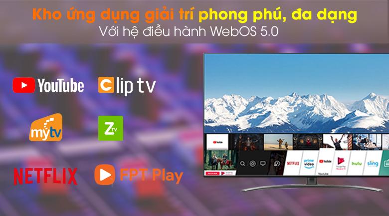 WebOS 5.0- Smart Tivi NanoCell LG 4K 65 inch 65NANO86TNA