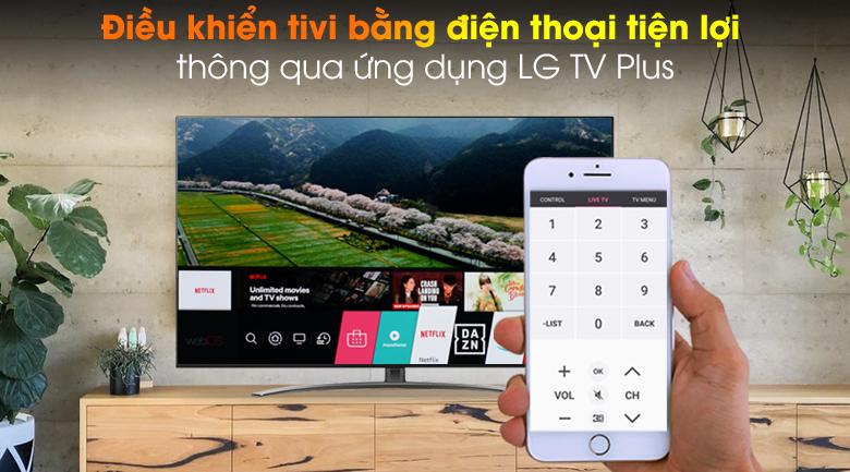 LG TV Plus - Smart Tivi NanoCell LG 4K 65 inch 65NANO86TNA