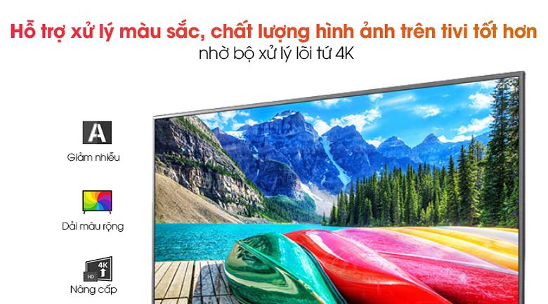 Bộ xử lý lõi tứ 4K - Smart Tivi LG 4K 70 inch 70UN7300PTC