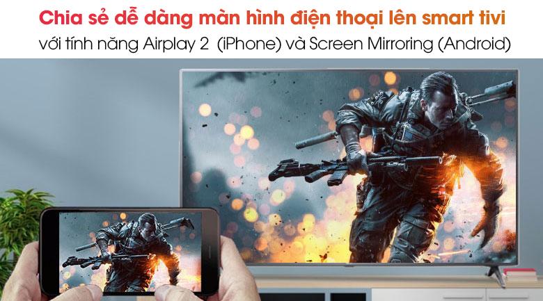 Chiếu màn hình -Smart Tivi LG 4K 70 inch 70UN7300PTC