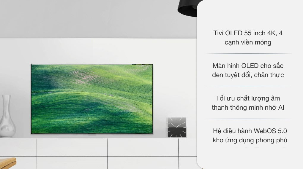 Smart Tivi OLED LG 4K 55 inch 55GXPTA