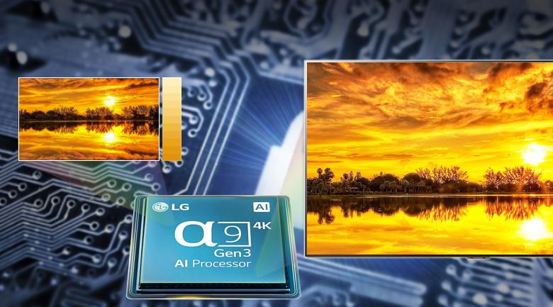Smart Tivi OLED LG 4K 65 inch 65GXPTA - AI 4K α9 thế hệ thứ 3