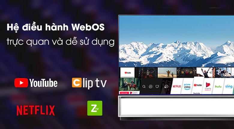 Tivi OLED LG 88ZXPTA - WebOS