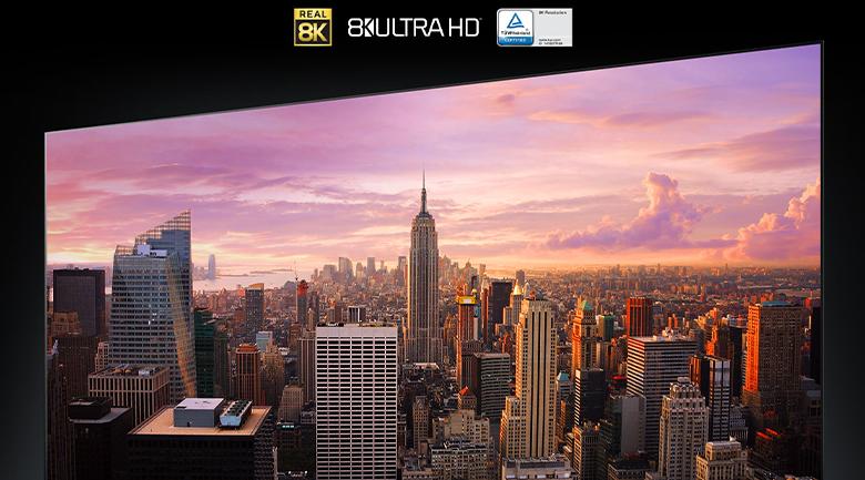 Smart Tivi OLED LG 8K 88 inch 88ZXPTA - Độ phân giải 8K