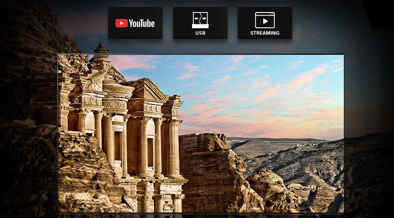 Smart Tivi OLED LG 8K 88 inch 88ZXPTA - Giải mã video