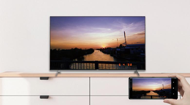 Chromecast và AirPlay 2 - Android Tivi Sony 4K 55 inch KD-55X9000H