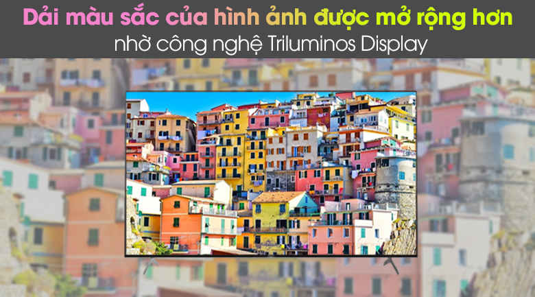 TRILUMINOS Display - Android Tivi Sony 4K 55 inch KD-55X9000H