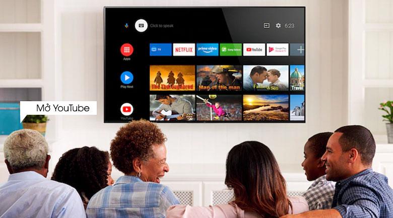 Android Tivi Sony 4K 55 inch KD-55X9000H/S - Giọng nói