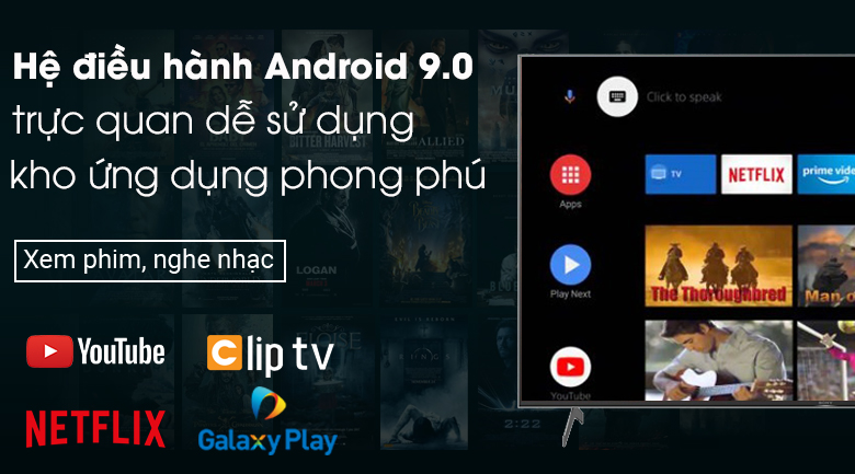 Android Tivi Sony 4K 65 inch KD-65X9000H - Android 9.0