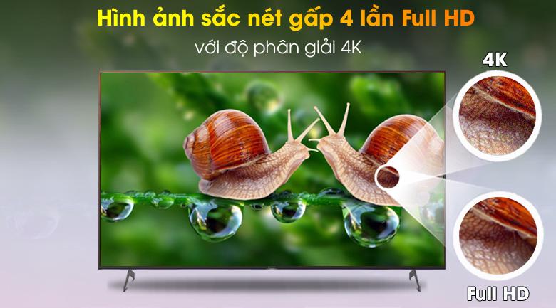 Phân giải 4K - Tivi LED Sony KD-65X9000H/S