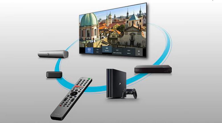 Remote thông minh - Tivi LED Sony KD-65X9000H/S