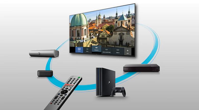 Android Tivi Sony 4K 75 inch KD-75X9000H - Điều khiển thông minh
