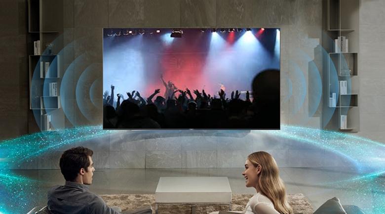 Android Tivi Sony 4K 75 inch KD-75X9000H - Âm thanh Dolby Atmos và Dolby Audio