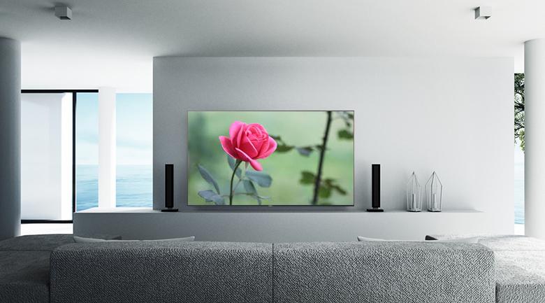 Android Tivi Sony 4K 75 inch KD-75X9000H - Thiết kế hiện đại