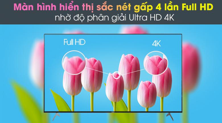 Android Tivi Sony 4K 75 inch KD-75X9000H - Độ phân giải 4K