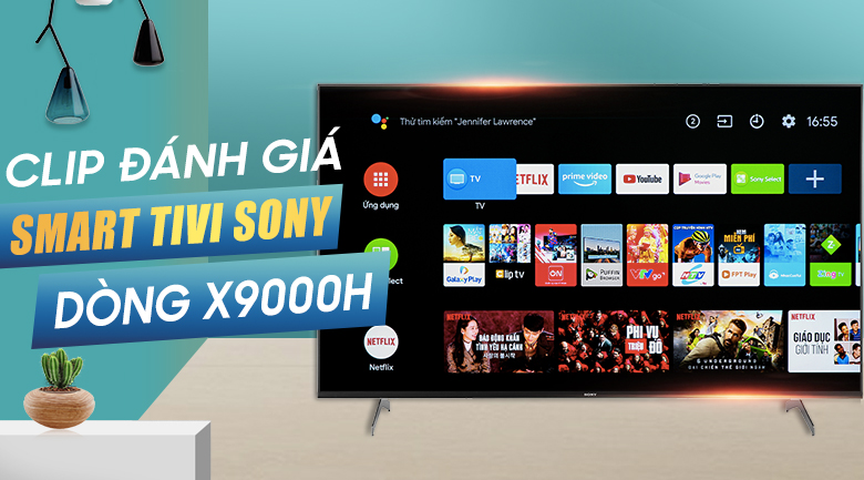 Android Tivi Sony 4K 85 inch KD-85X9000H