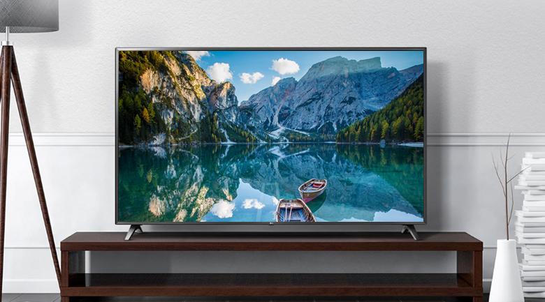 Smart Tivi LG 4K 43 inch 43UN7000PTA - Thiết kế đơn giản, kiểu dáng chắc chắn