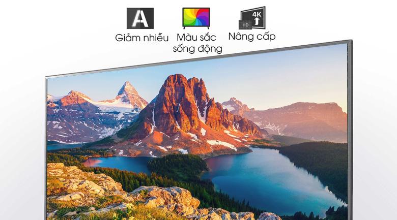 Smart Tivi LG 4K 43 inch 43UN7000PTA - Bộ xử lý Quad Core 4K