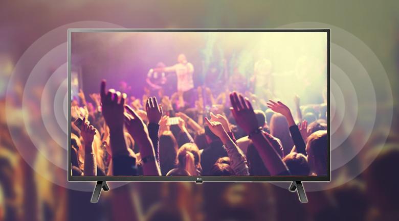 Smart Tivi LG 4K 43 inch 43UN7000PTA - Âm thanh mạnh mẽ