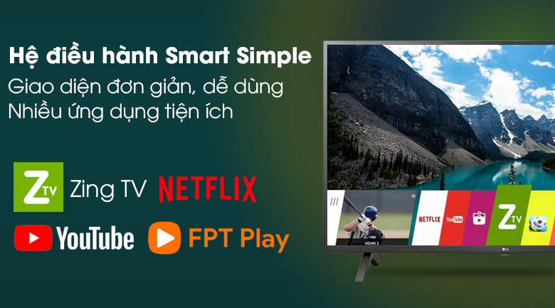 Smart Tivi LG 4K 43 inch 43UN7000PTA - Smart Simple (Linux)