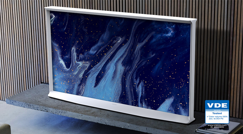 Smart Tivi QLED Samsung 4K 55 inch QA55LS01T - QLED