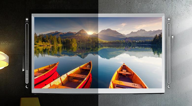 Smart Tivi QLED Samsung 4K 55 inch QA55LS01T - Adaptive Picture
