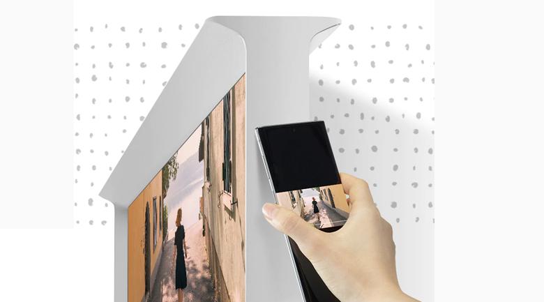 Smart Tivi QLED Samsung 4K 55 inch QA55LS01T - Tap View