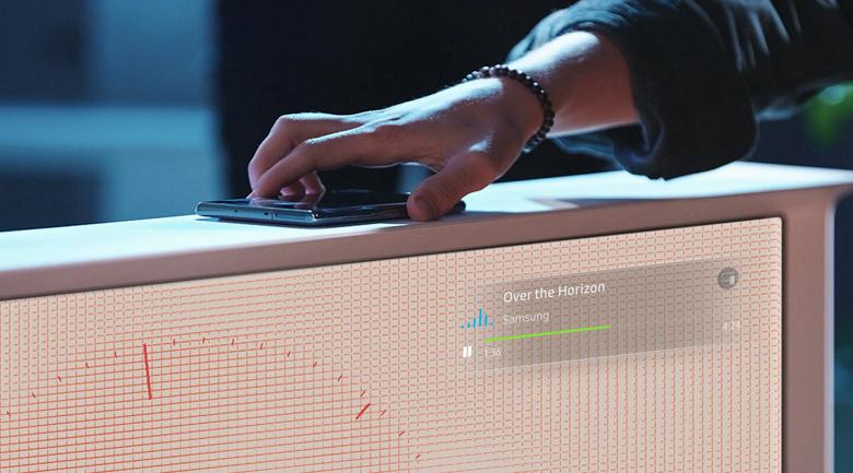 Smart Tivi QLED Samsung 4K 55 inch QA55LS01T - NFC
