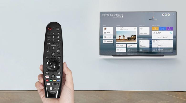 Smart Tivi OLED LG 4K 65 inch 65CXPTA - Magic Remote