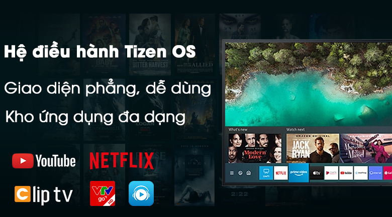 Smart Tivi The Terrace QLED Samsung 4K 75 inch QA75LST7T - Tizen OS