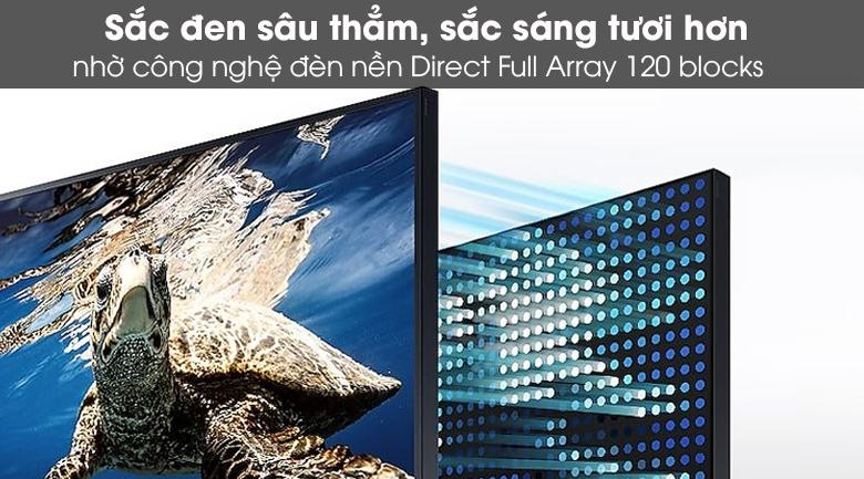 TIVI QLED Samsung QA65LST7T - Độ tương phản cao
