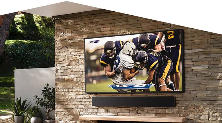 Smart Tivi The Terrace QLED Samsung 4K 65 inch QA65LST7T - Thiết kế