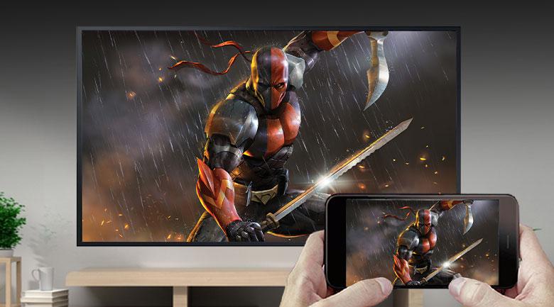 Tivi The Terrace QLED Samsung 4K 65 inch QA65LST7T - Chiếu màn hình qua AirPlay 2