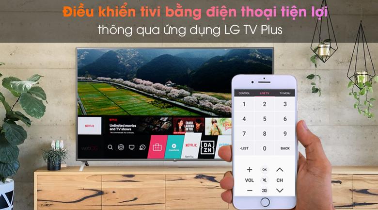 Smart Tivi LG 4K 86 inch 86UN8000PTB - LG TV Plus