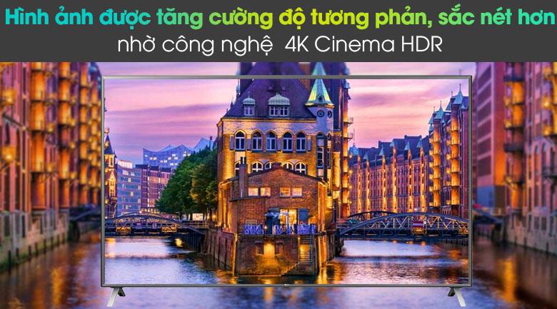 Smart Tivi LG 4K 86 inch 86UN8000PTB - Công nghệ 4K Cinema