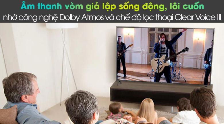 Smart Tivi LG 4K 86 inch 86UN8000PTB - Dolby Atmos
