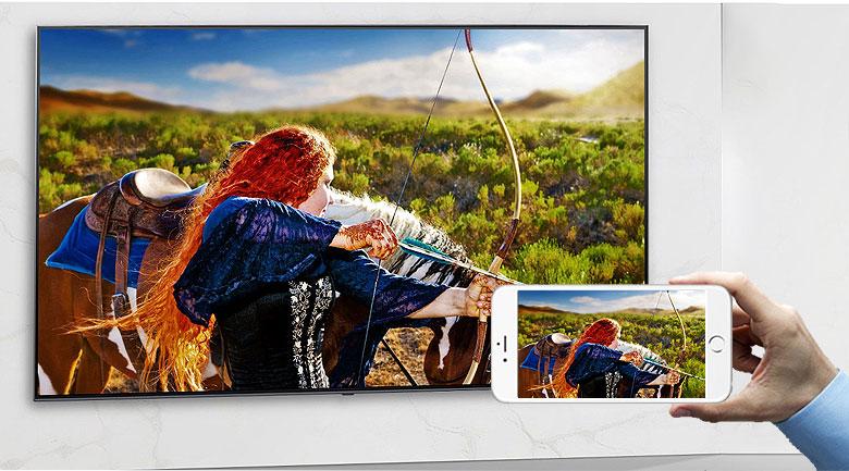 Smart Tivi NanoCell LG 8K 75 inch 75NANO95TNA  - Chiếu màn hình điện thoại lên tivi