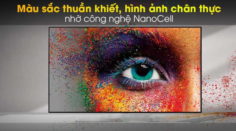 Smart Tivi NanoCell LG 8K 75 inch 75NANO95TNA - Công nghệ màn hình NanoCell