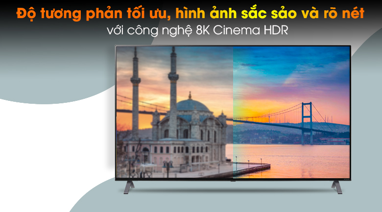 Smart Tivi NanoCell LG 8K 75 inch 75NANO95TNA - 4K Cinema HDR