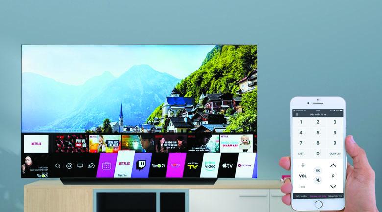 Smart Tivi OLED LG 4K 77 inch 77CXPTA - LG TV Plus