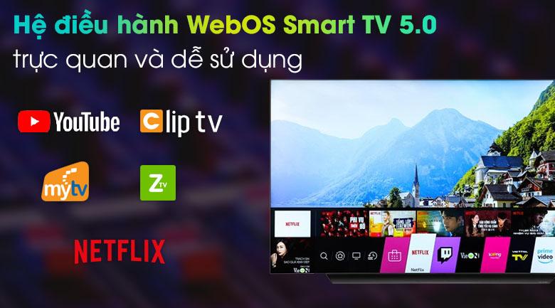 Smart Tivi OLED LG 4K 77 inch 77CXPTA - WebOS 5.0
