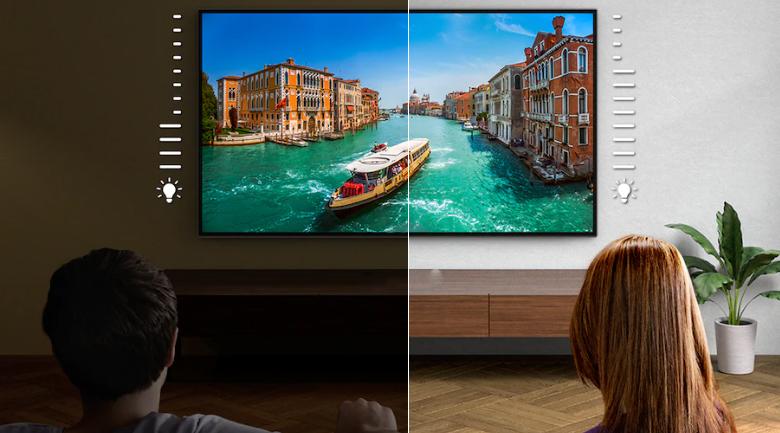 Android Tivi OLED Sony 4K 48 inch KD-48A9S - Tự động điều chỉnh hình ảnh, âm thanh theo môi trường xung quanh