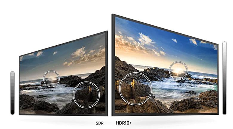 Smart Tivi Samsung 4K 55 inch UA55TU8000 - HDR10+